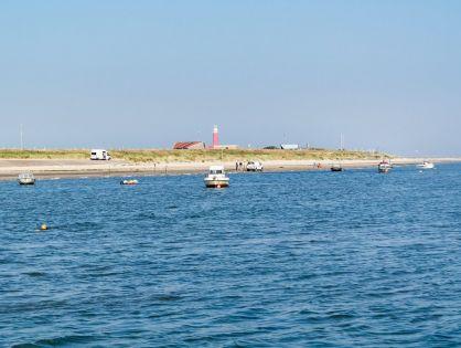 De boot naar Texel